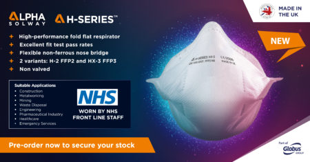 Alpha-Solway-P3-Disposable-Fold-Flat-Respirator-H-SERIES-MODEL-HX-3